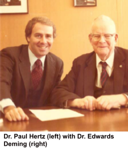 Paul Hertz and Edwards Deming