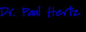 Dr Paul Hertz